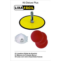 Frete Gratis !! Kit Deluxe Lixa Facil - Plus Mercur