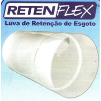 Válvula De Retenção De Esgoto Retenflex 100mm 4 Polegadas