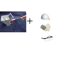 Projetor De Argamassa E Reboco + Capacete+luva+oculos Reboco