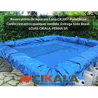 Lona Lago Tanque Criação Peixe Manta Impermeável Rede 5x3m
