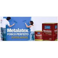 Tinta Acril Met. Premium Fosco Super Lav. Branco Lt 18 Litro