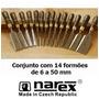 Narex - Conjunto Com 14 Formões Tchecos Premium