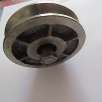 Roldana Para Portão Ferro Fundido 60mm V Cantoneira 2 Peça