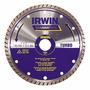 Disco Diamantado Turbo Para Cortes Irwin C/ Frete Gratis