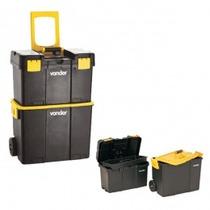 Caixa Plastica Organizadora Porta Ferramentas Vonder C/ Roda