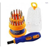 Super Kit 31 Chaves Diversas De Precisao Com Estojo/leilão