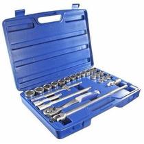 Kit Soquete Sextavado 1/2 Mecanico Oficinas Carro Ford Fd834