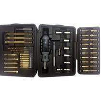 Black & Decker Kit Broca Ponta Furadeira Parafusadeira 50 Pç