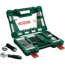 Kit Bosch V-line Titanium Ferramentas+brocas Com 83 Peças