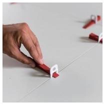 Espaçador Piso/ Porcelanato Retificado 1,5mm -pct. C/100unid