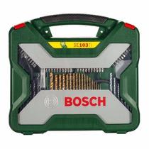 Kit Titanium Ferramentas E Brocas X-line 103 Peças Bosch