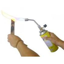Macarico Portatil Simples Gt49 + Recarga De Gas