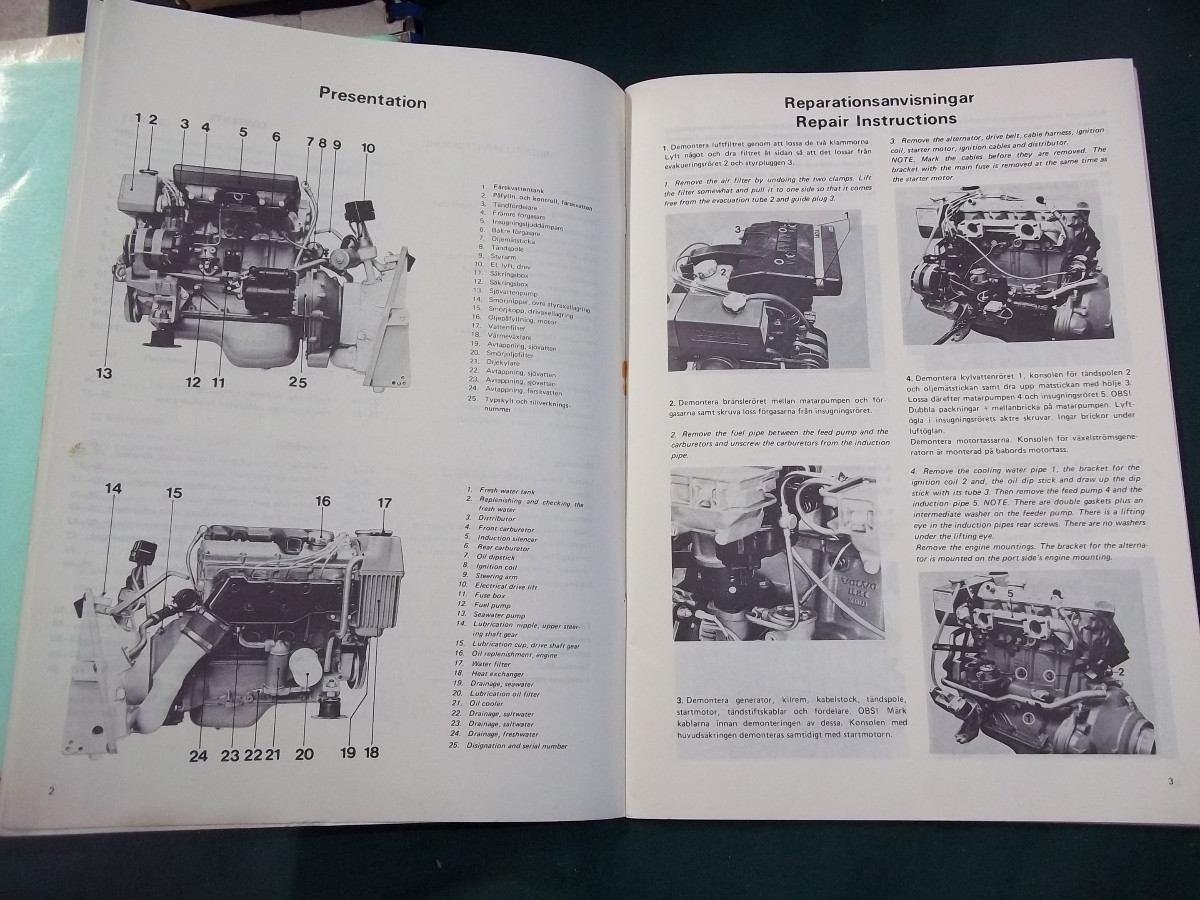 volvo penta engine manuals  volvo  free engine image for