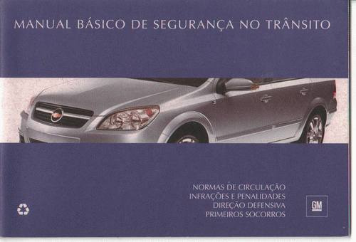 Manual Proprietário Original Corsa Classic 2008