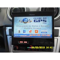 Atualizar Gps Pioneer Avic-f220 Maps 2015 Radares 2016