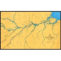 Carta Nautica Rios Represas Lagos Serra Da Mesa Tres Marias