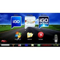 Navegadores Gps + Cartão 4gb - Igo8, Amigo, Primo + Menu