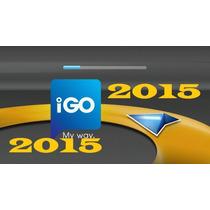 Gps Igo Com Hud Multiresolução 2015 Tablet Celular Android