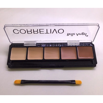 Corretivo 5 Cores Belle Angel Maquiagem