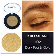 Sombra Kiko Original ( Itália ) 102 - Dark Pearly Gold