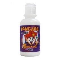 Pancake Em Creme Branco Para Maquiagem Artística Pintakara