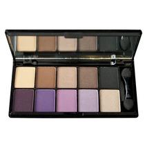 Bellas Makeup-paleta 10 Cores Sombras Nyx Versus - Original