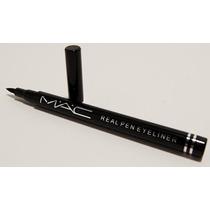 Caneta Delineadora Mac Real Pen Eyeliner - Brinde Surpresa
