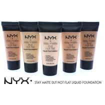 Nyx Stay Matte But Not Flat Liquid Foundation- Base Matte!!