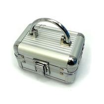 Maleta Frasqueira De Alumínio Pequena Ruby´s Fs-1109a Prata