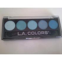 Paleta Sombra Hipoalergênica La Colors 5 Cores Tranquil
