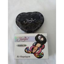 Paleta Jasmyne Kit Maquiagem Linda - 32 Itens