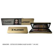 Paleta Playboy Cores Nude Compactada Igual Mac