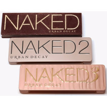Paletas Urban Decay Naked1 Naked 2 E Naked 3 Pronta Entrega