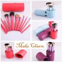 Kit 12 Pinceis Para Maquiagem Profissional =mac Zoreya Sigma