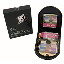 Kit De Maquiagem 3d T&g 12 Sombras E 3 Blush Tango Variados