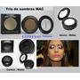 Kit 3 Sombras Mac - Carbon, Espresso E Gesso.matte/shimmer.