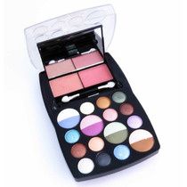 Kit De Maquiagem Com Sombra E Blush Ruby Rose - Hb-3822