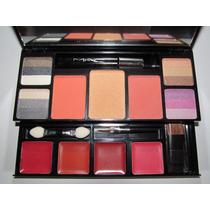 Paleta De Sombras Mac - Com Gloss E Blush