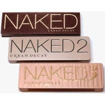 Paleta De Sombra - Naked 1 + Naked2 + Naked3 - Importadas