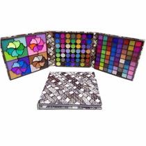 Paleta Maquiagem Jasmyne Kit 153 Cores Estojo Sombras 3d/fos
