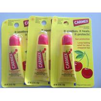 Carmex Protetor Labia Sabor Cereja Bisnaga.