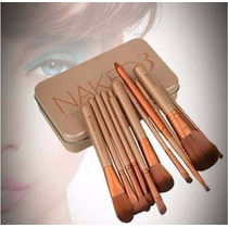 Kit Naked Com 12 Pincel Para Maquiagem - Pronta Entrega