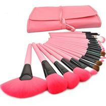 Kit De Pinceis Maquiagem 24 Pcs - Pronta Entrega