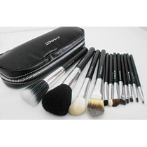 Kit 12 Pinceis Mac Para Maquiagem Numerados Pronta Entrega