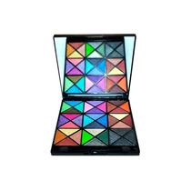 Estojo De Sombra 3d Maquiagem Macrilan 36 Cores