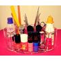 Porta Maquiagem Organizador Esmaltes Escritório + Mimo!!!