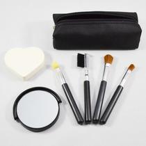 Kit De Maquiagem De Bolsa Para Olhos E Rosto