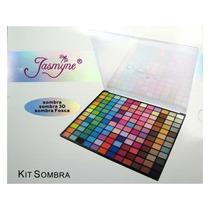 Kit De Maquiagem Jasmyne Somba 3d/fosca Frete Gratis+brinde!