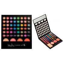 Paleta Sombras Studio 3d Vult Make Up Kit Maquiagem 48 Cores