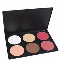 Paleta Blush Ilumina E Contorna 6 Cores Melhor Preço Jaque